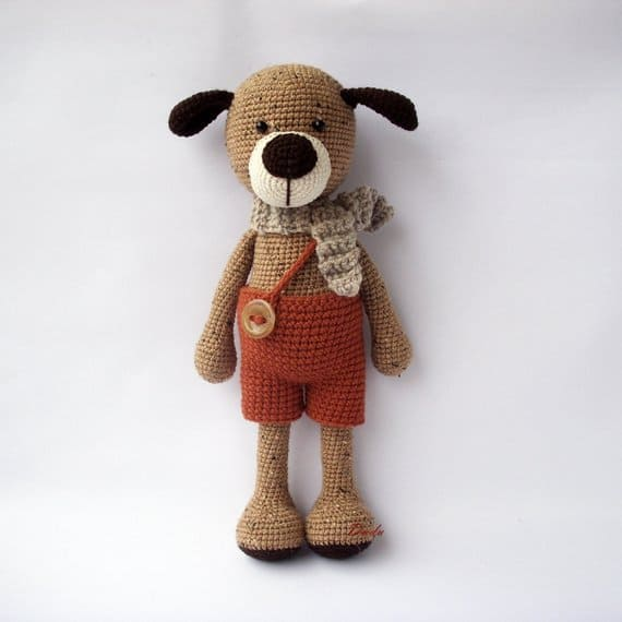 Max the Dog Crochet Pattern