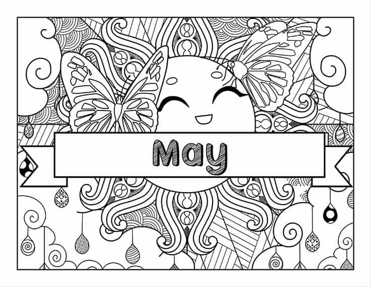May sunshine cover page