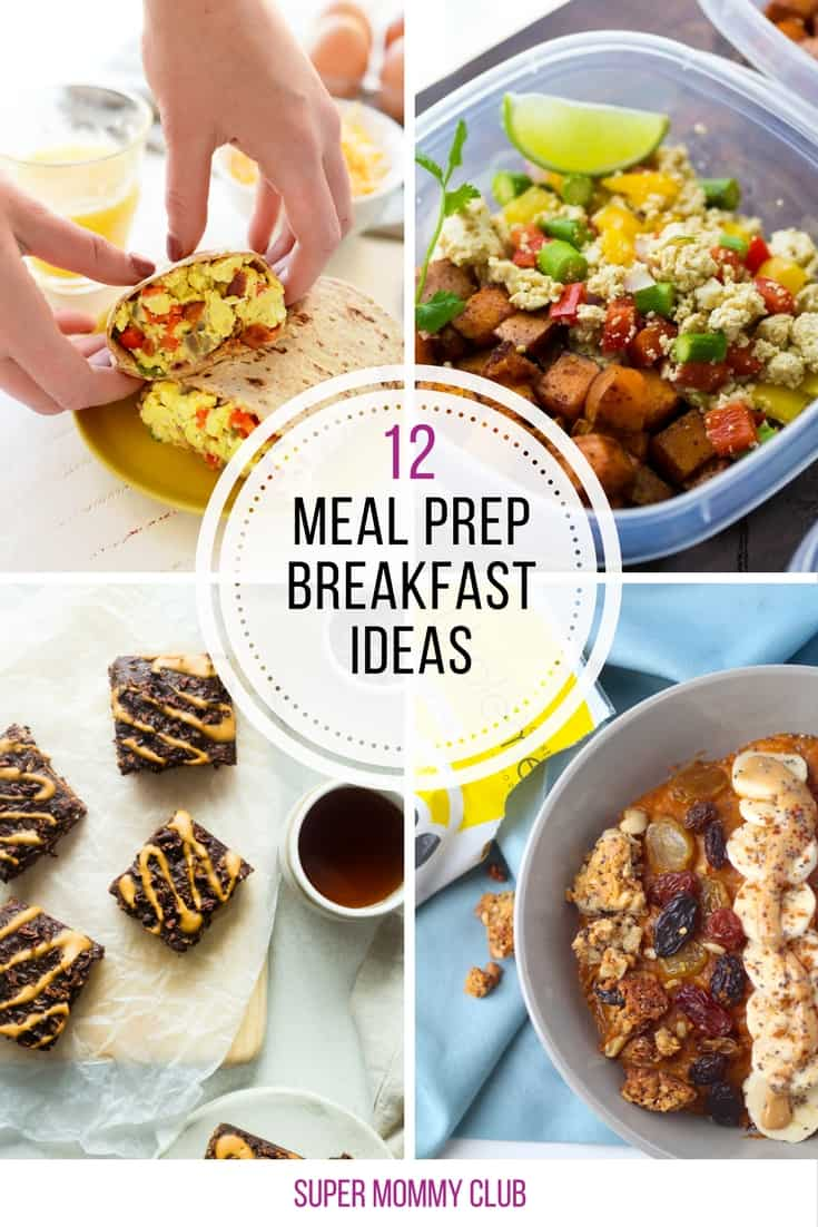 So many meal prep friendly breakfasts in this list - which is good because we need some new recipes in our rotation!