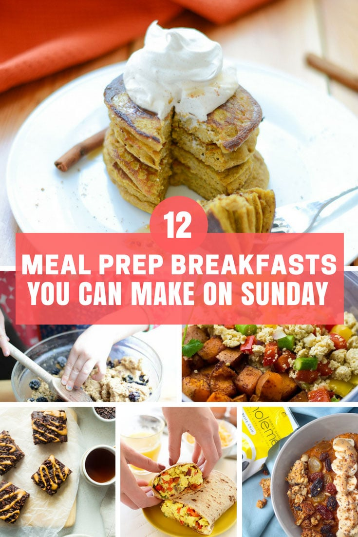 Meal Prep Breakfast Ideas You Can Make on Sunday