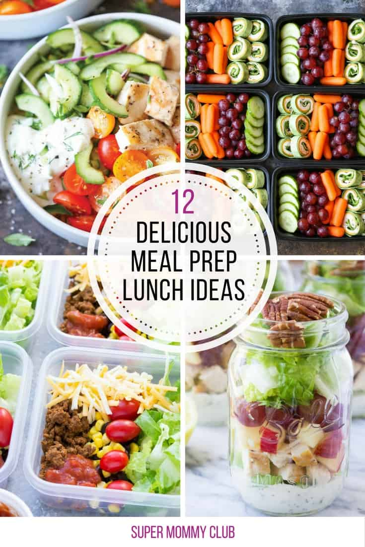 These meal prep ideas for lunch are super healthy and delicious!