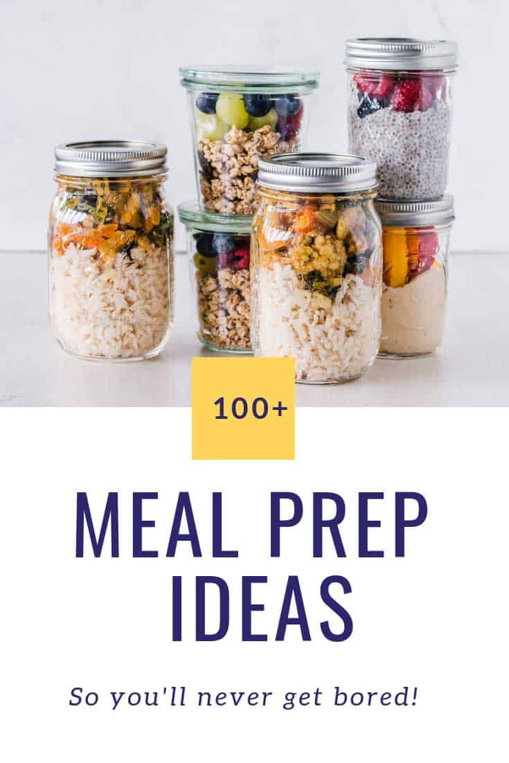 Loving these meal prep ideas! So easy and healthy too!