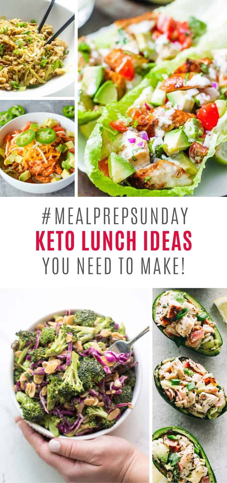 Loving these meal prep keto lunch ideas!
