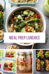 Oh so many delicious meal prep lunch ideas here - thanks for sharing!