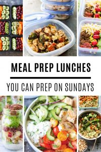 Loving these meal prep lunches that taste great and are easy to prepare!