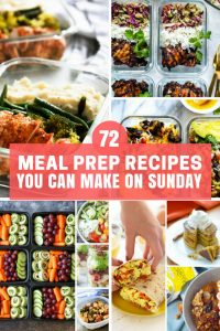 Meal Prep Recipes for All Meals