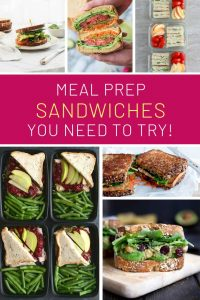 Yum! So many delicious meal prep sandwiches for lunch ideas!