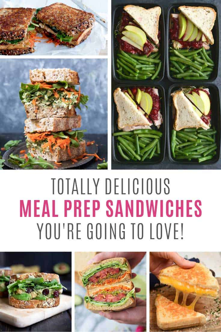 Loving these meal prep sandwiches - so easy to make!
