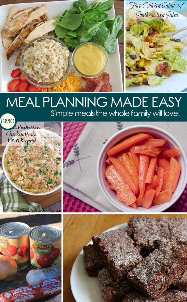 These recipes will make my meal planning for next week so much easier! Click on the image to see the meal plan.