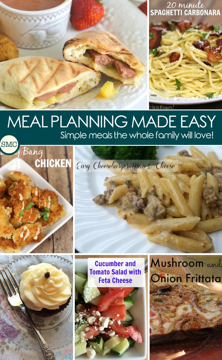 Loving these quick and easy meals for my meal plan next week. Click on the image to see them all.