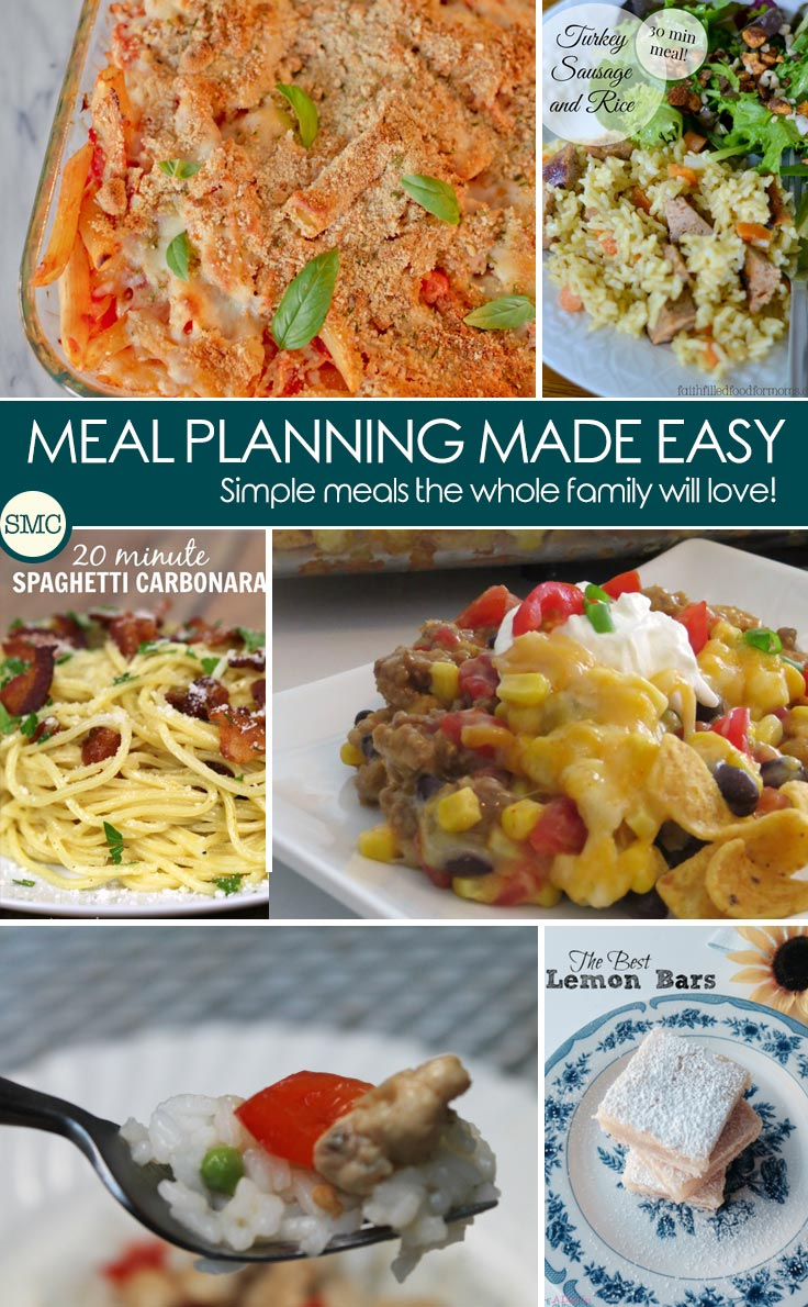 So many great recipes here to include in my meal plan for next week. Click on the image to see them all!