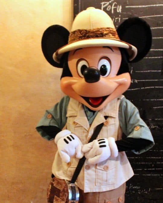 Mickey Character Dining