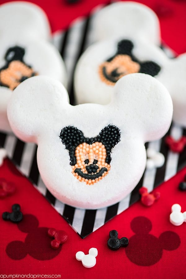 DIY Mickey Bath Bombs