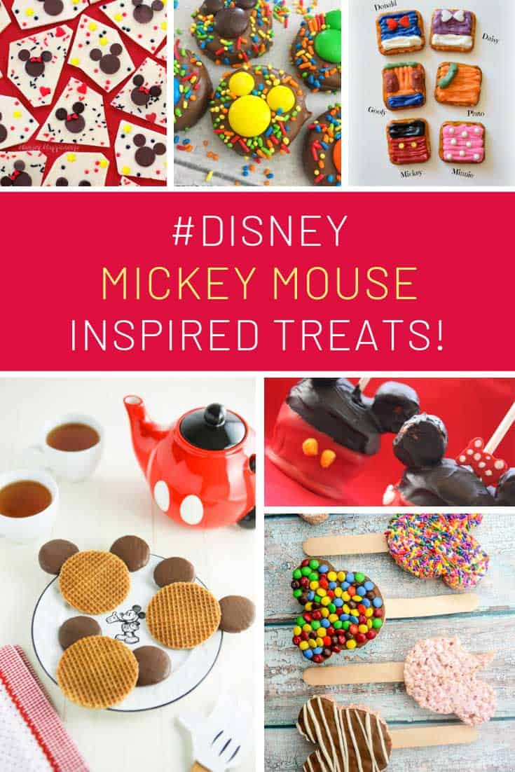 Loving these Mickey Mouse inspired treats!