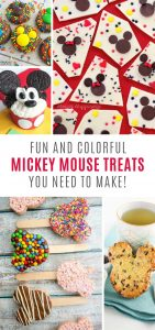 How cool are these Mickey Mouse treat ideas! Perfect for any Disney fan!