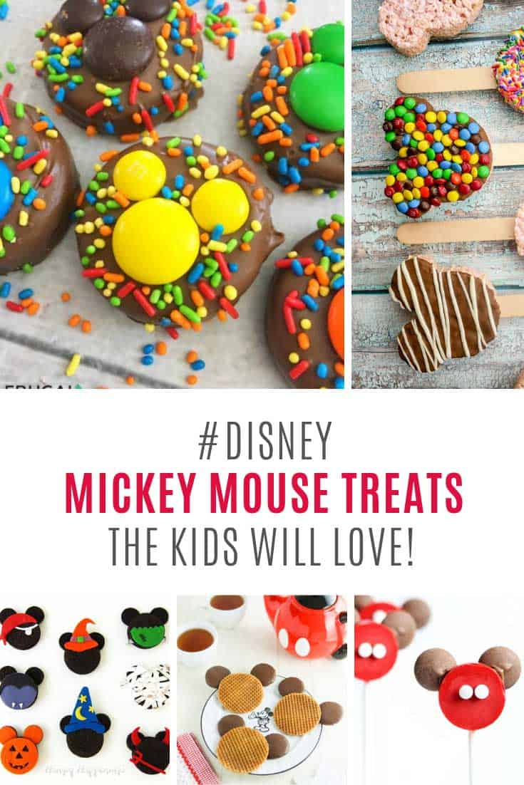 My kids are going to go crazy over these Mickey Mouse treats!