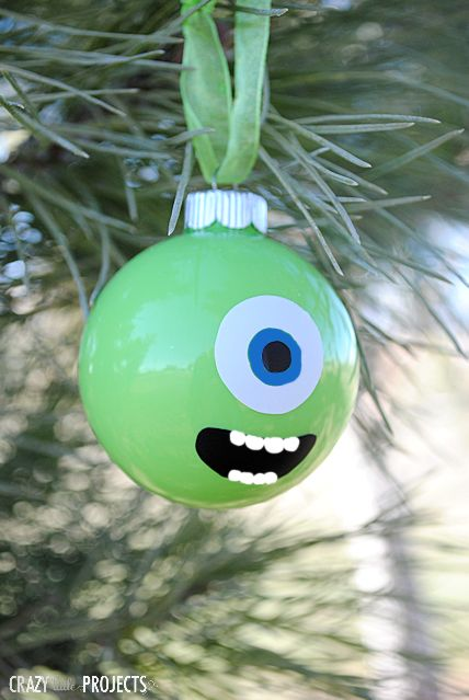 Mike Wazowski Ornament