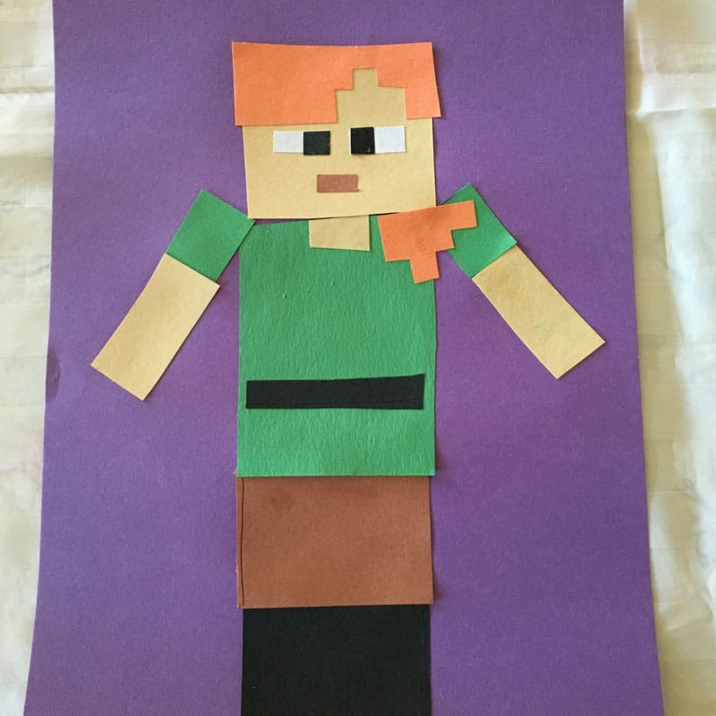 Minecraft Alex Craft for Kids