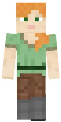 Minecraft Alex Pixel Skin