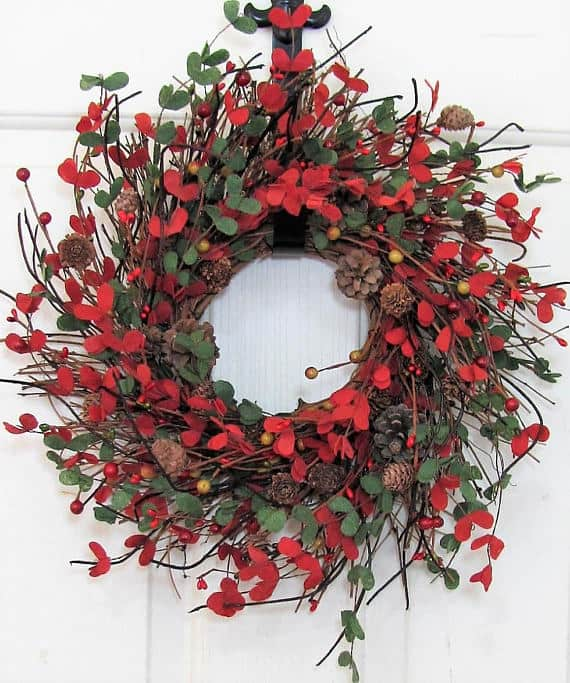 Mini Boxwood Christmas Wreath