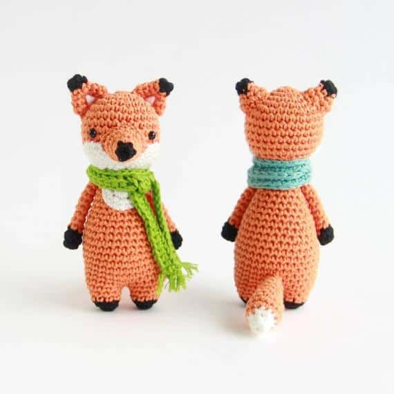 Mini Fox Crochet Amigurumi Pattern