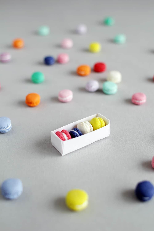DIY Mini Macaron Charms
