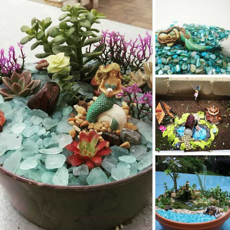Loving these mini mermaid fairy gardens! Thanks for sharing!