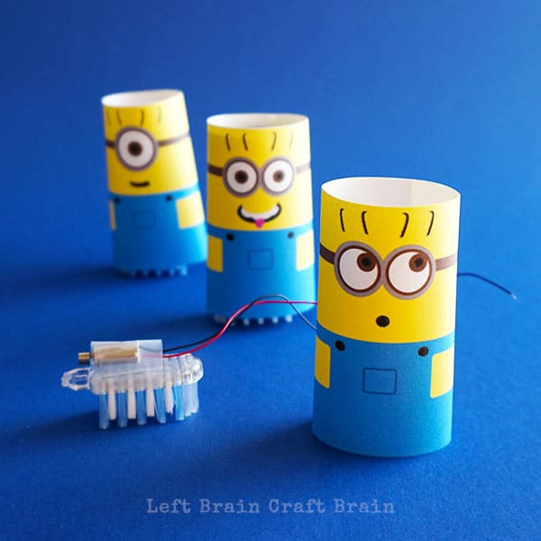 Minion Brush Bots