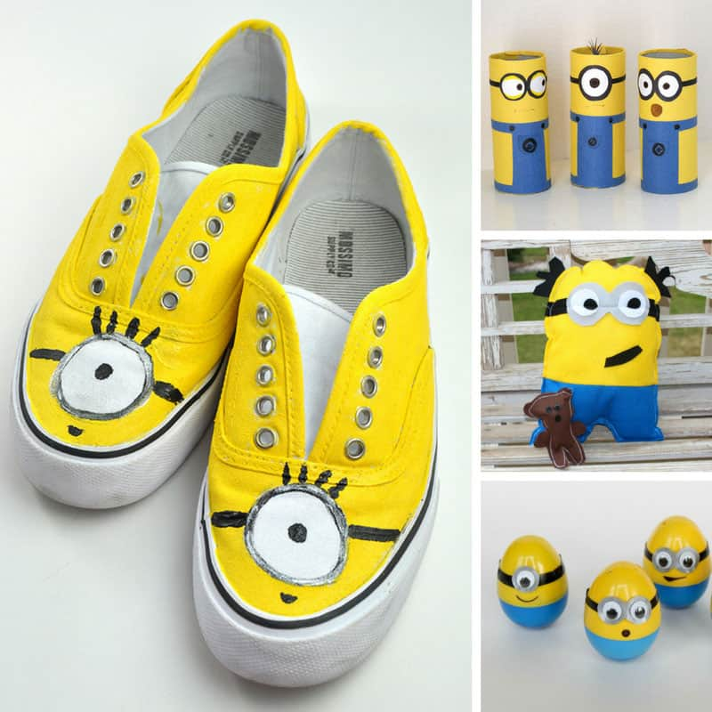 Loving these Minion crafts! Thanks for sharing!
