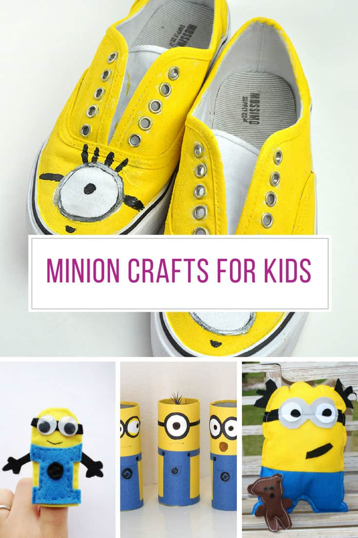 Loving these Minion crafts for kids - Thanks for sharing!