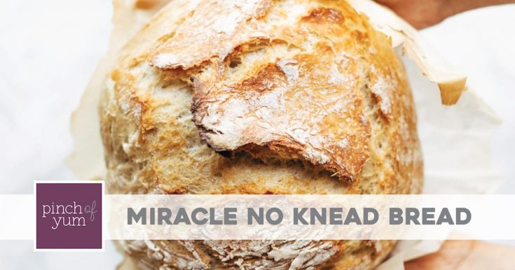 Miracle No Knead Bread