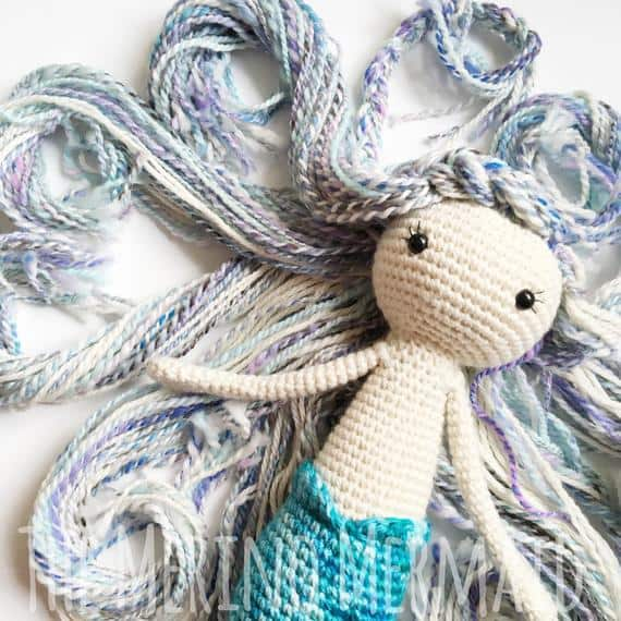 Miriam the Mermaid Crochet Pattern