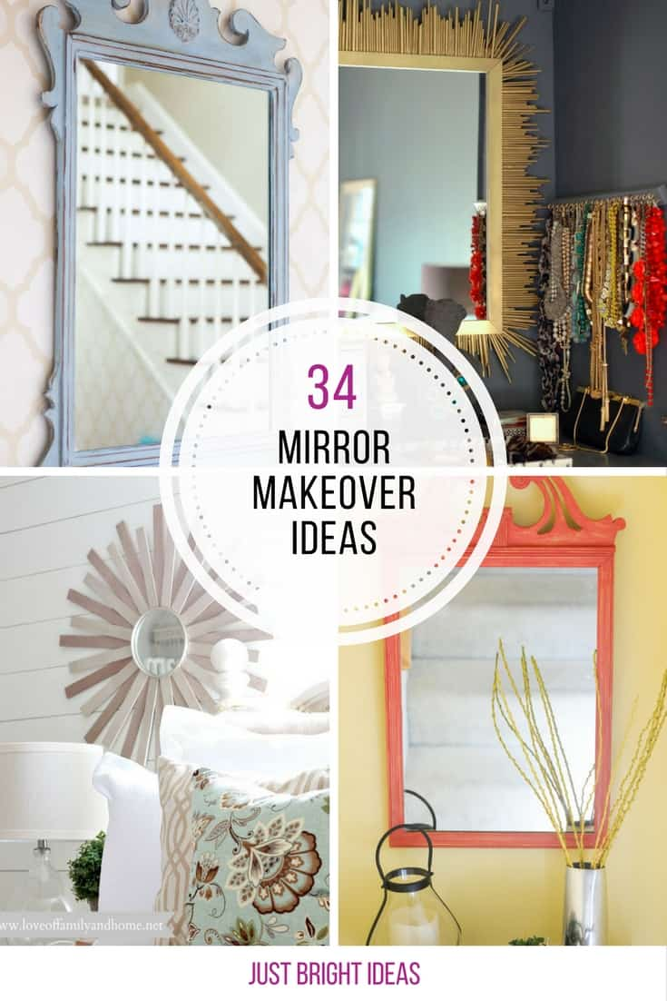 34 Gorgeous Mirror Makeover Ideas You Need To See