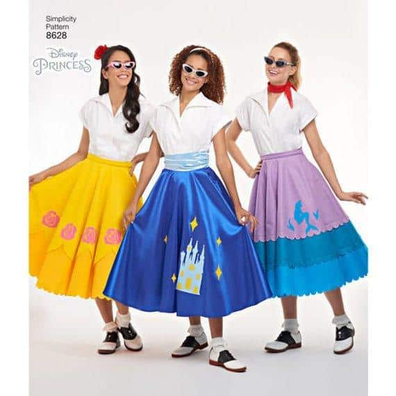 Misses' Disney Character Skirts