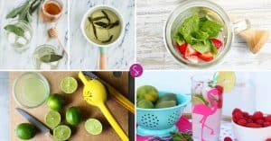 Easy Mocktail Recipes for Kids and Baby Showers!