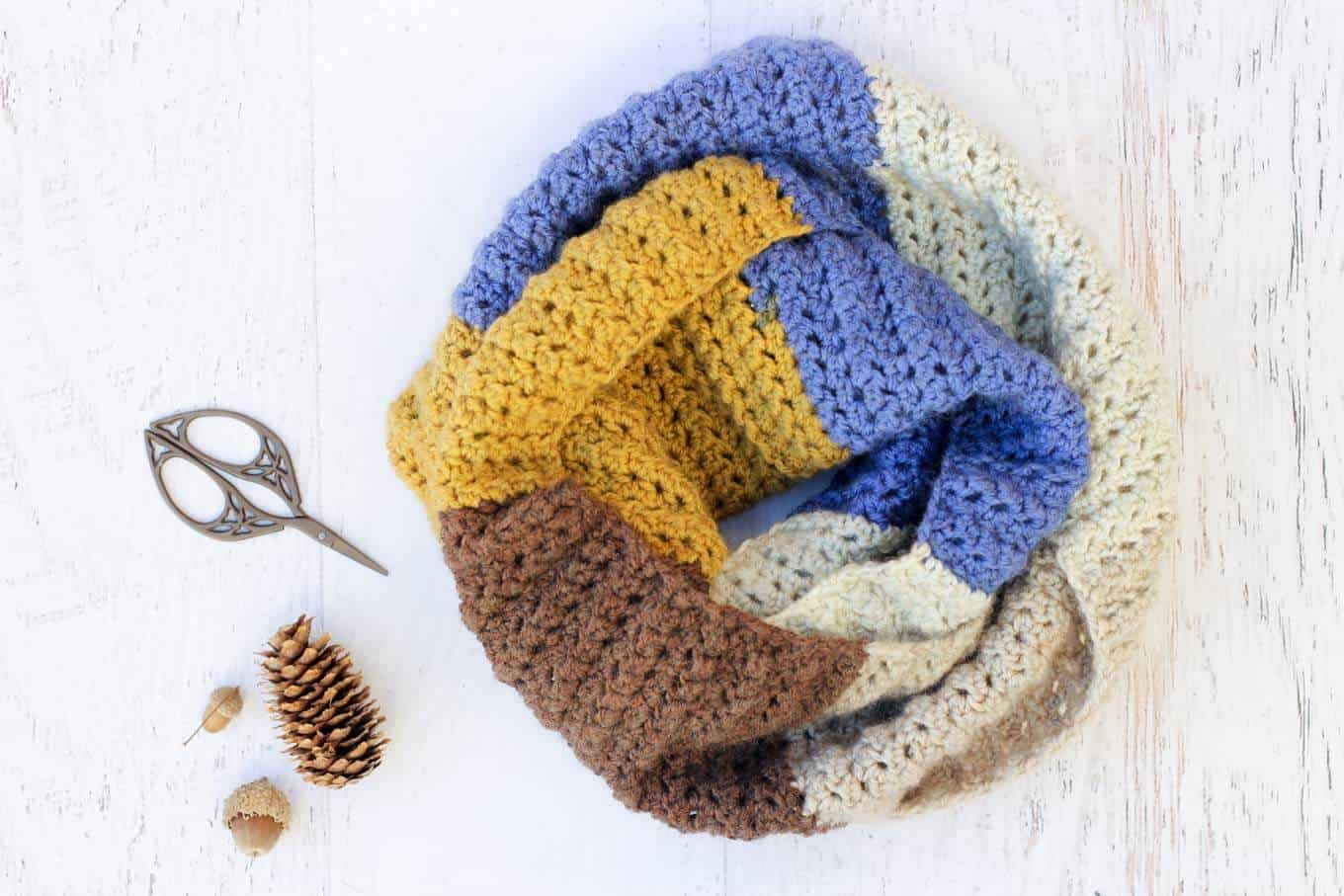 Free Infinity Scarf Crochet Patterns To Keep Your Neck Warm And Snug