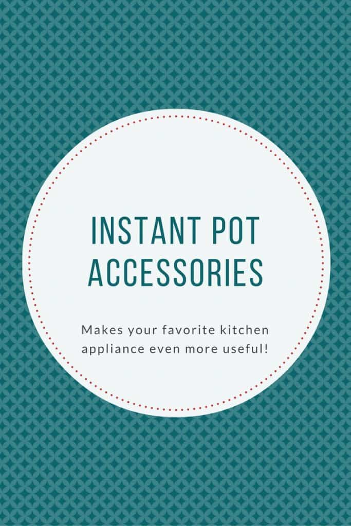 I didn't think my Instant Pot could get any better - then I saw these accessories! WOW!