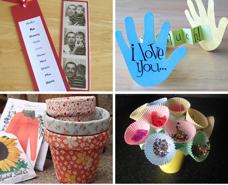 Cute kid's crafts for Mother's Day