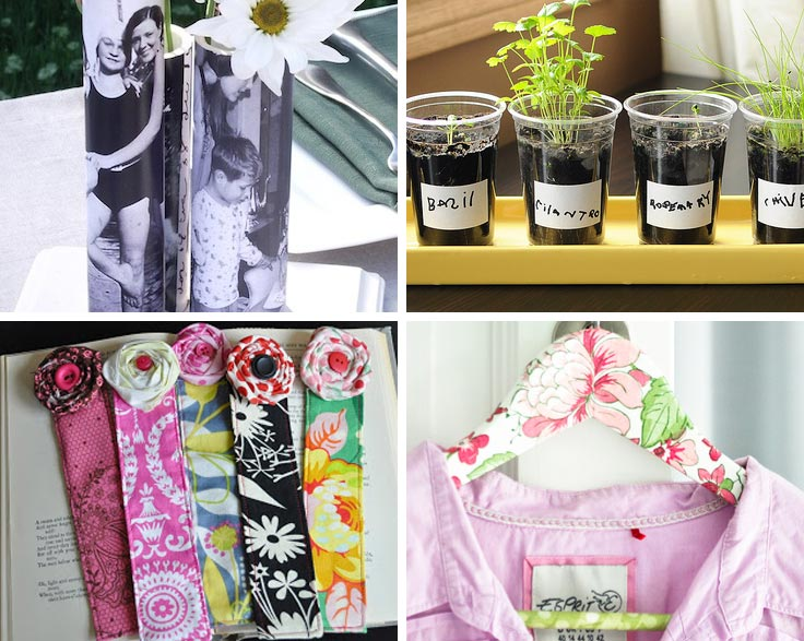 Beautiful handmade Mother's Day gifts that the kids can make with help from Dad!