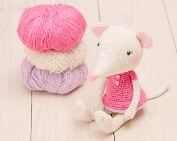 Sweet Amigurumi Mouse