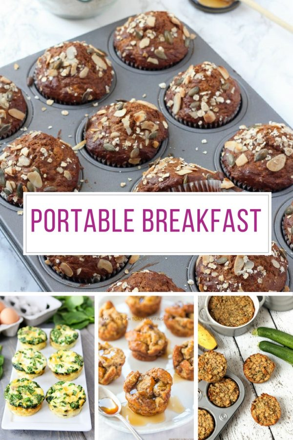 These muffin tin breakfasts are healthy and perfect for days when you need to eat on the run!