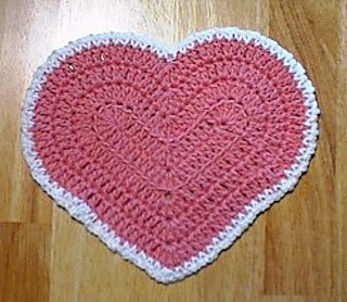 My Heart Dishcloth