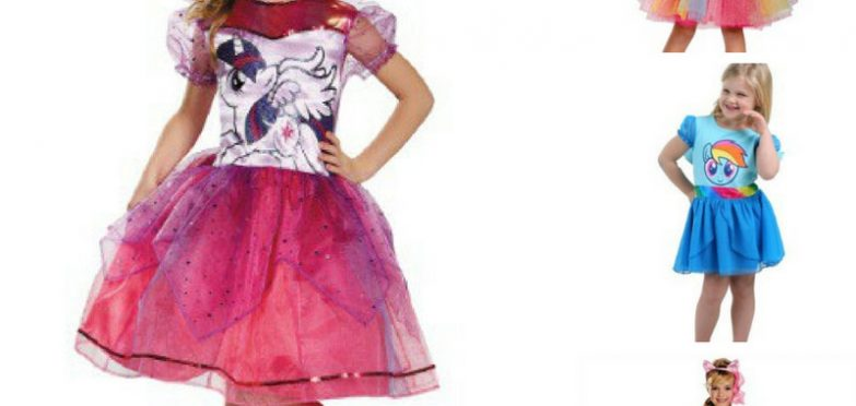 These My Little Pony Halloween costumes are adorable! My kids will love them for trick or treating this year!