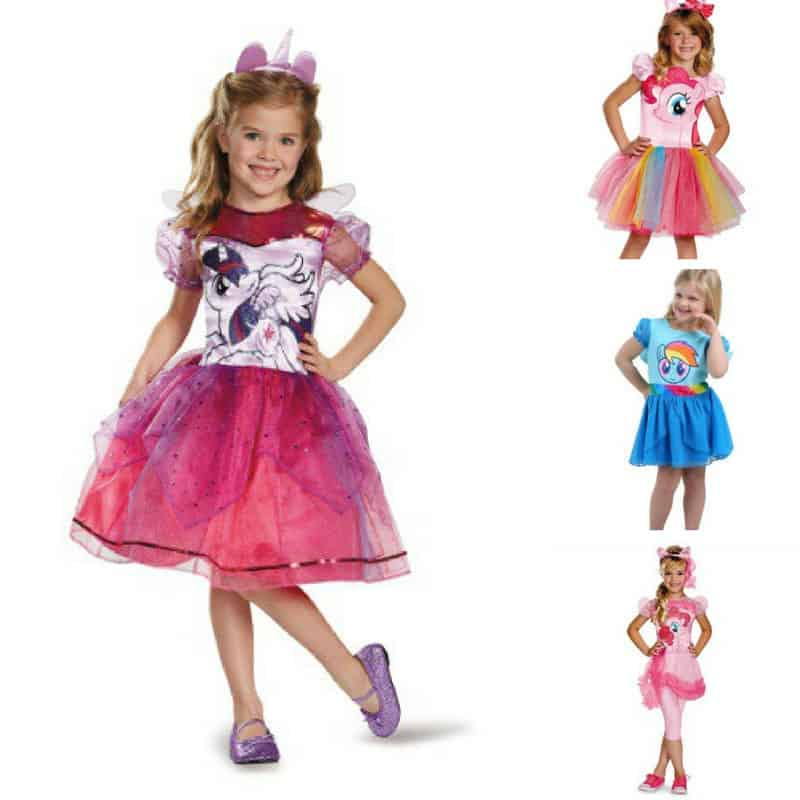Totally Magical My Little Pony Halloween Costumes for Kids