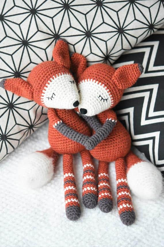 Mystique the Fox Crochet Pattern