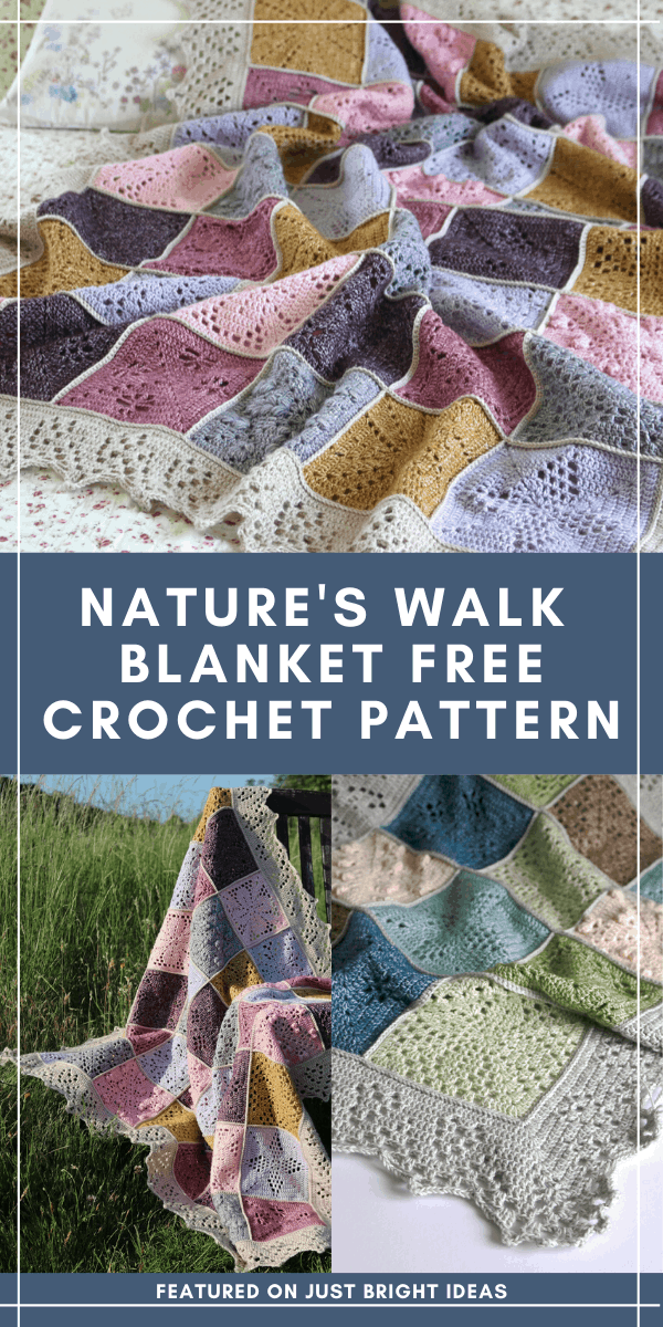 This beautiful crochet blanket was inspired by nature and would make a treasured family heirloom - find out how to get the free pattern today!