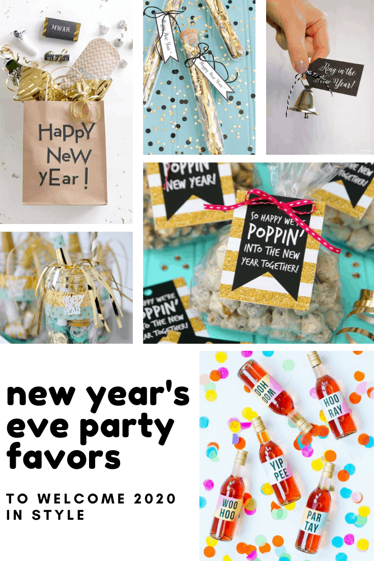 Loving these New Years Eve party favors! So many sparkly ways to welcome in 2020!