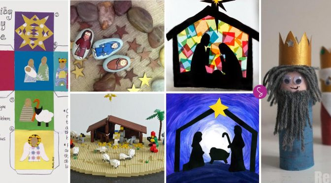 Nativity crafts for preschoolers for Nativity crafts to make