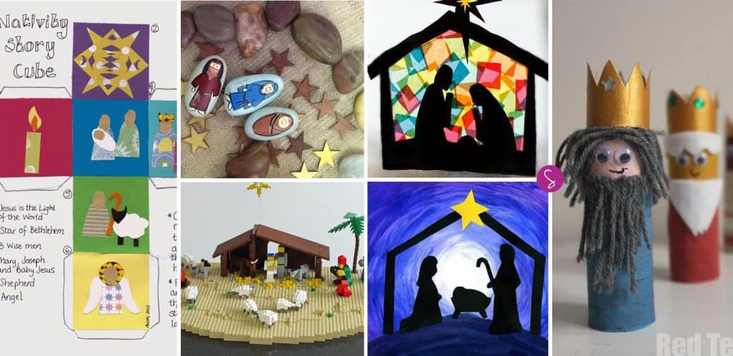 Nativity Crafts for Kids to Make