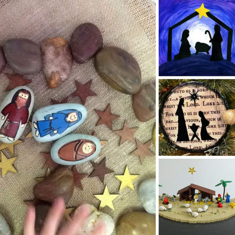 These nativity crafts are so lovely we'll be using them at Christmas for years to come!